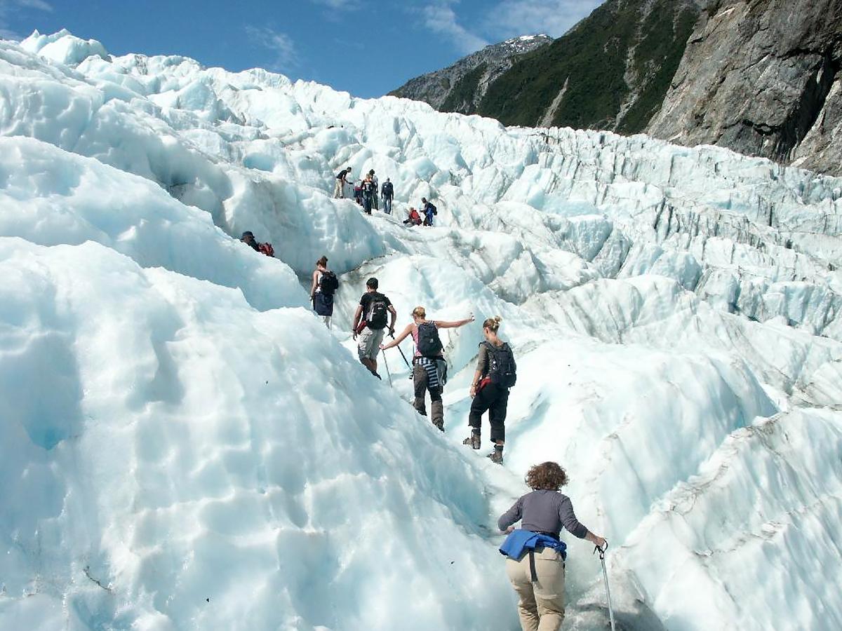 Glacier Trekking on Fox and Franz Josef