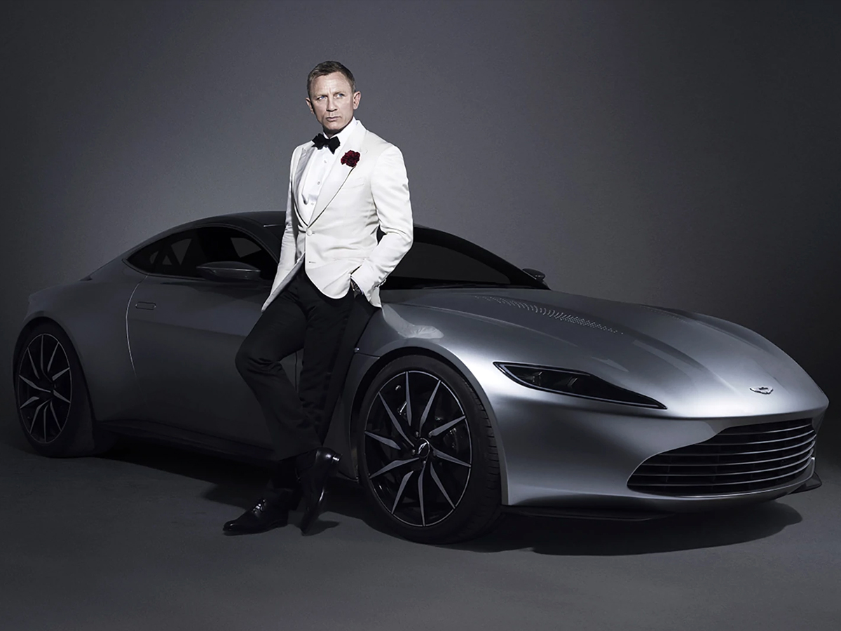 The most latest and advanced Bond car