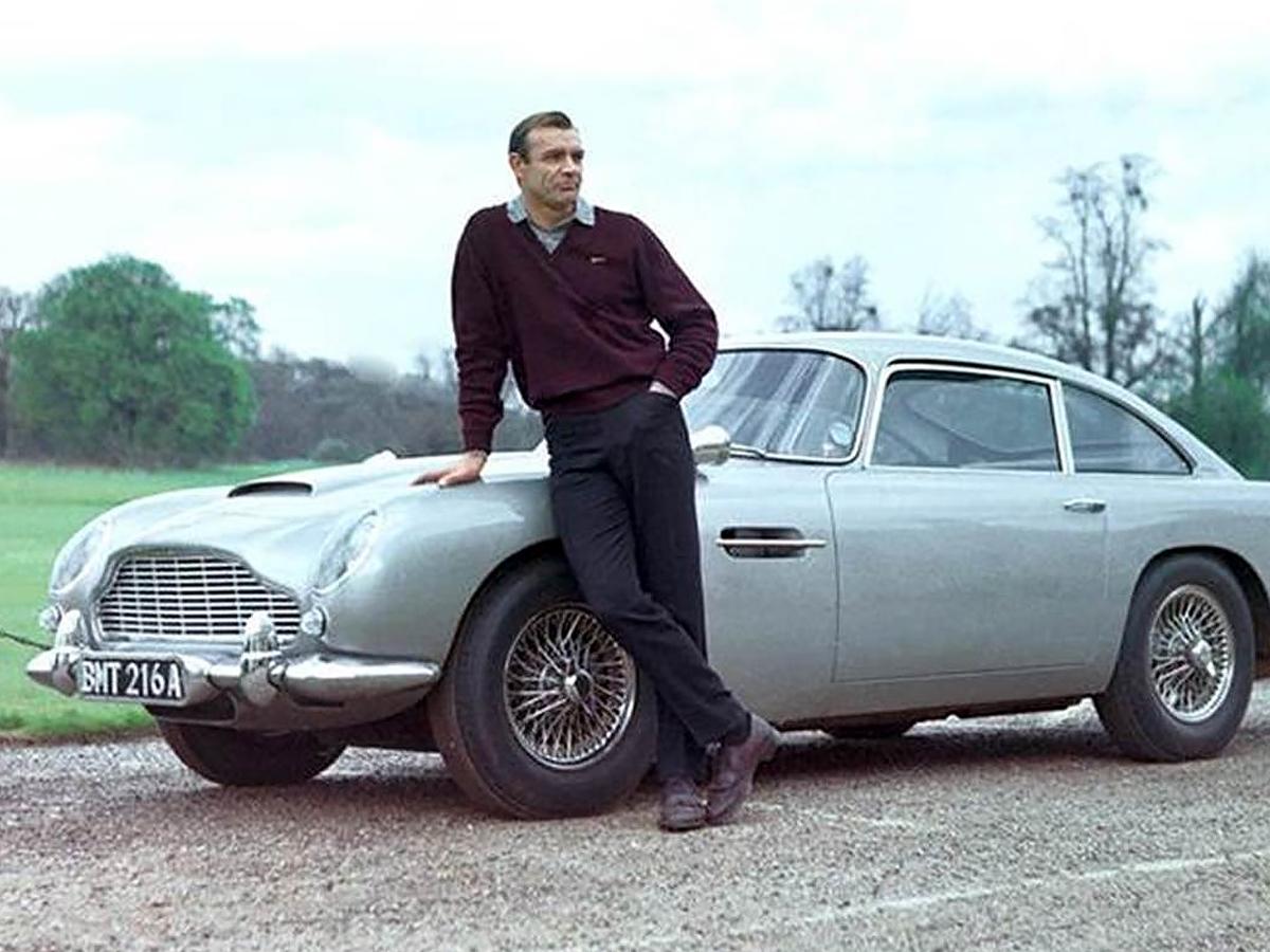 Aston Martin DB5 the OG Bond Car