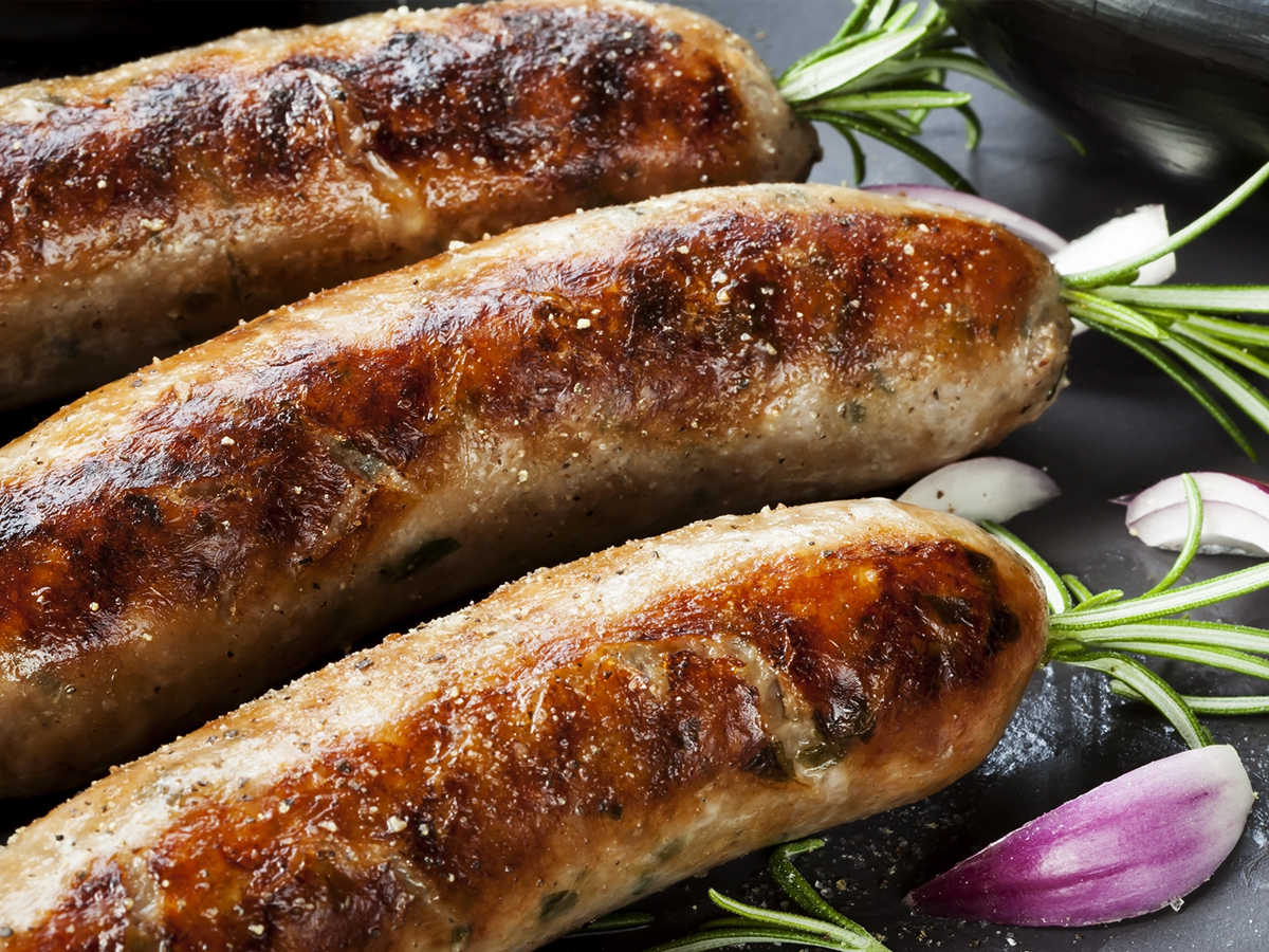 Snags Barbecued (aka sausages)
