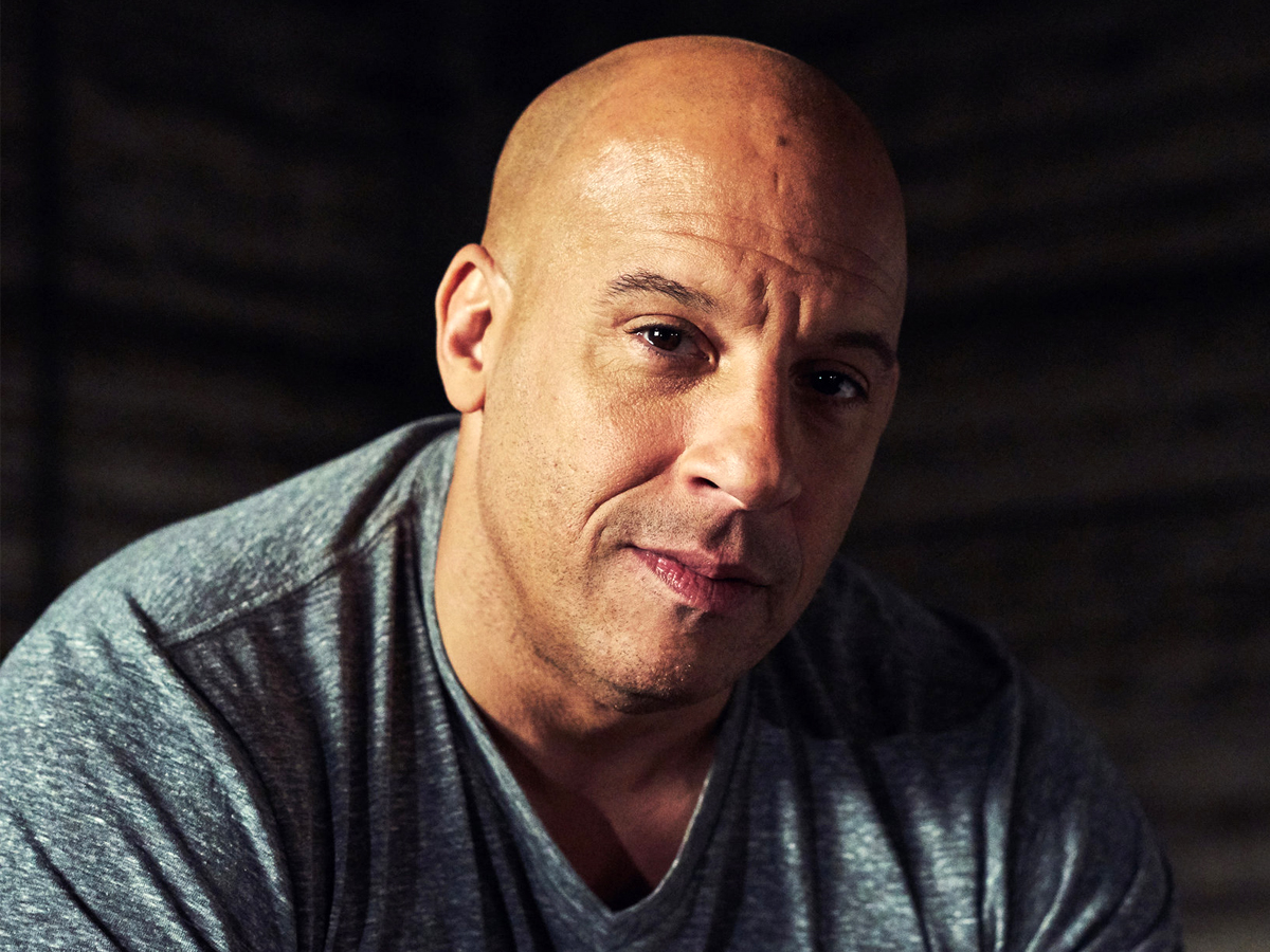 Vin Diesel aka Dominic Toretto