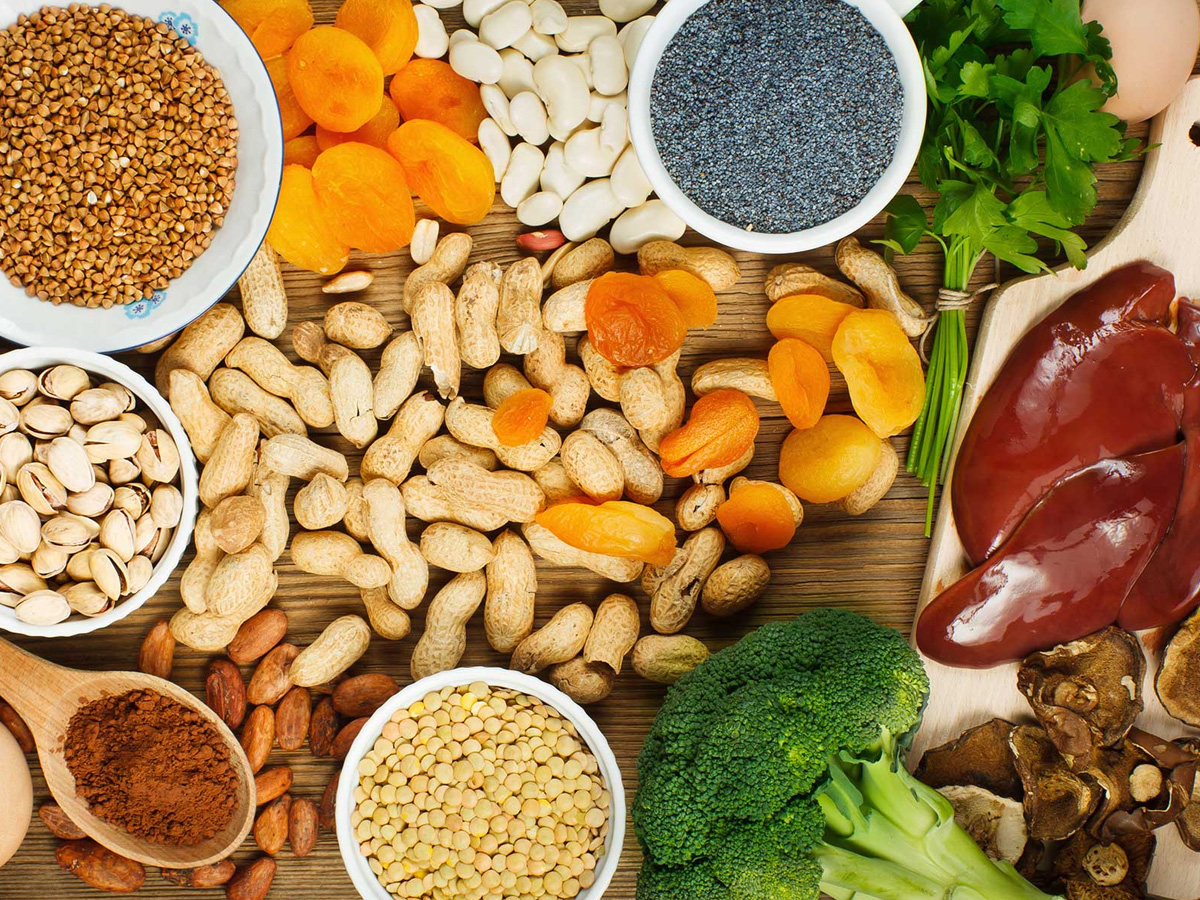 Consuming Vitamin-C and Iron-rich foods together