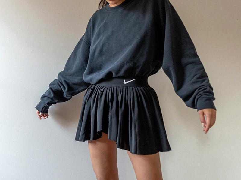tennis shorts fashion