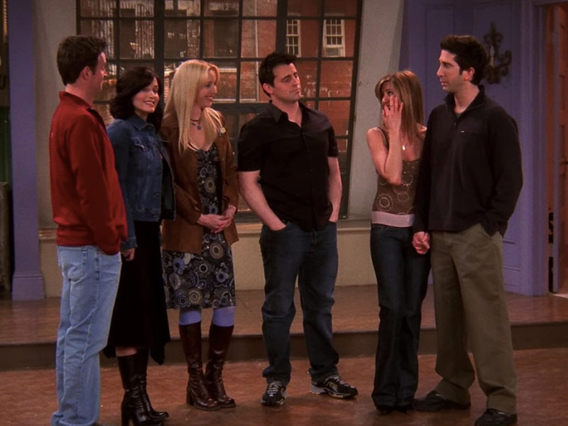 the last one, last friends episode,