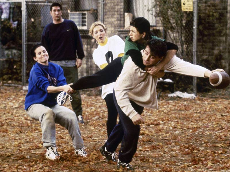 friends episode, the one with football