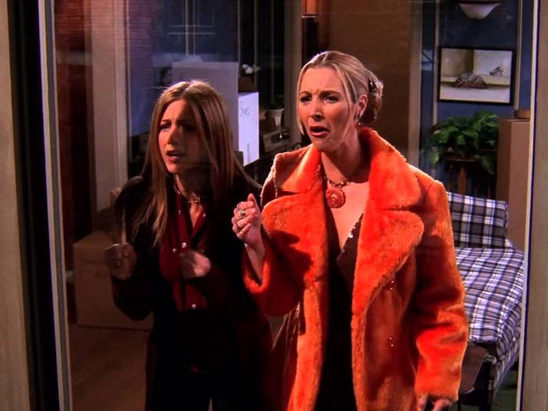 my eyes my eyes, phoebe my eyes, the one where everybody finds out,