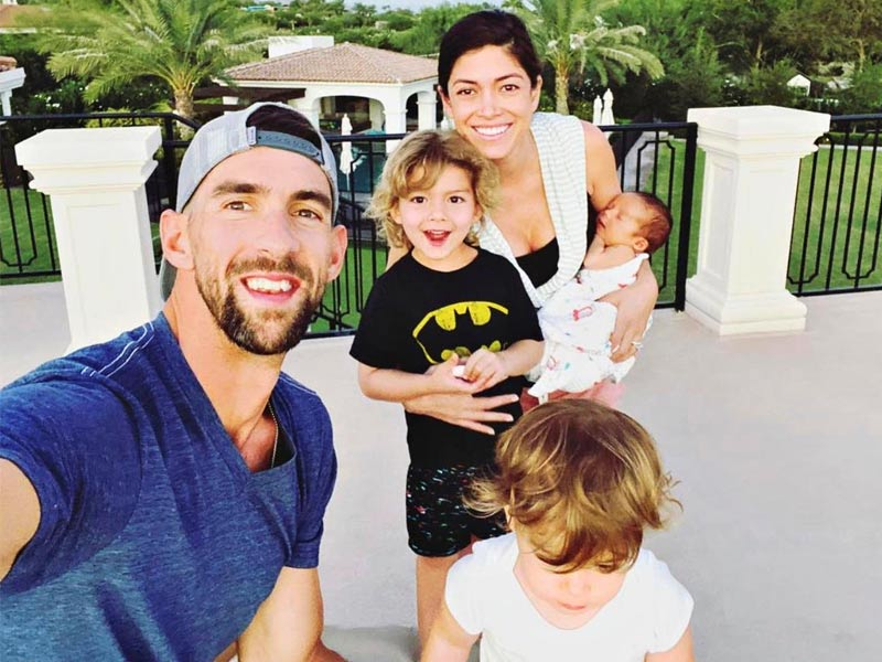 michael phelps family