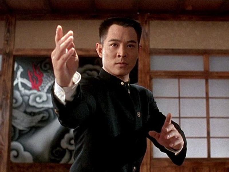 jet li, best martial artists