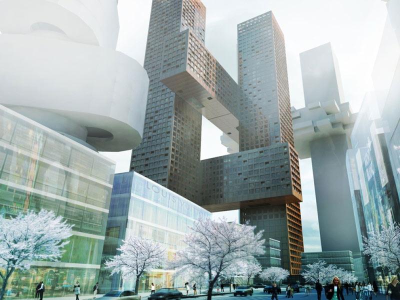 south korea architecture