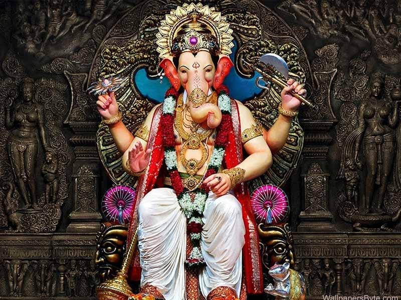culture of mumbai, lal bagh ganesha