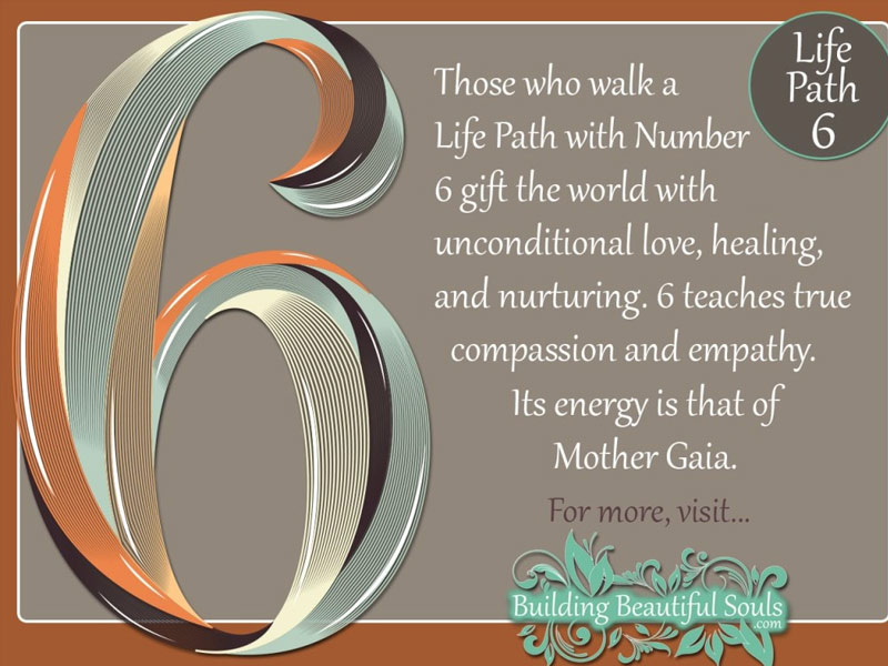 life path number 6