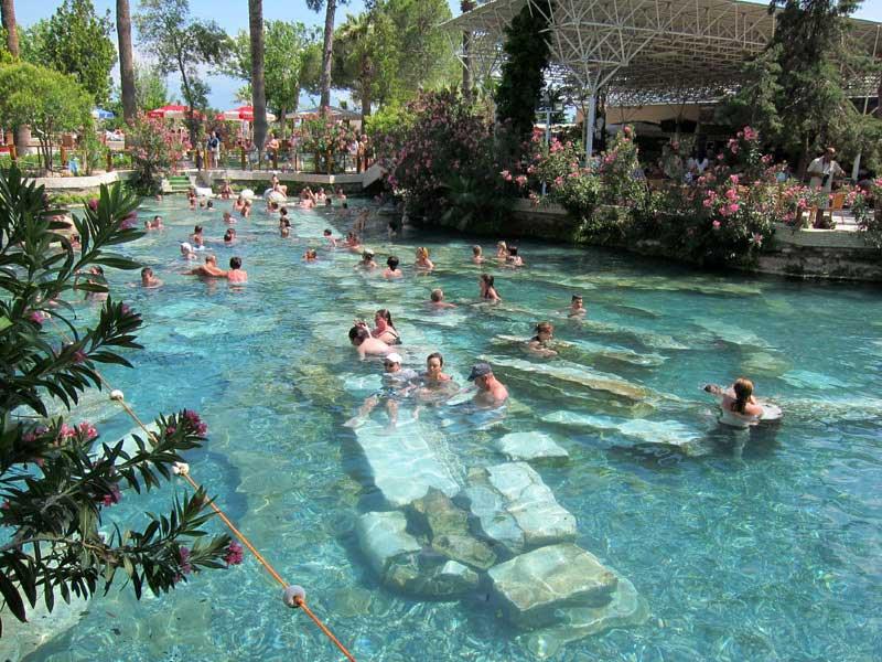 temple of apollo, pool at temple of apollo