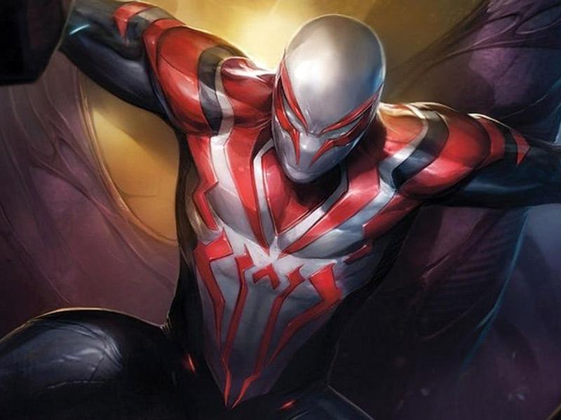 spiderman 2099, spider man 2099 white