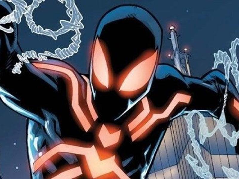 stealth spider man suit