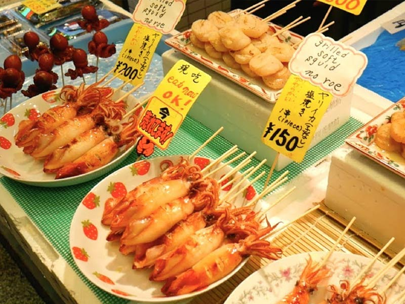 street food of kyoto