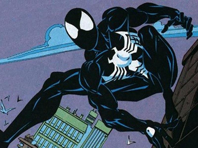 symbiotic suit, spiderman black suit